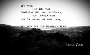 We Weep